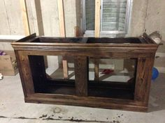 Wood Fish Tank Stands Uk