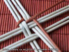 pletení z papíru postupy - Buscar con Google