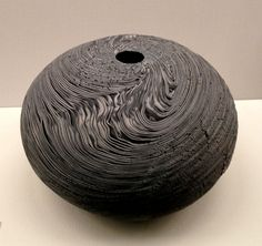 """""""Swirl"""" (1976) - neriage technique - Matsui Kosei (1927-2003)"""