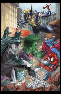 Marvel vs. DC - Javier Avila