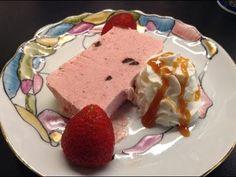 Parfe cu căpșuni - Cristine Cuisine - YouTube Pudding, Youtube, Desserts, Food, Strawberries, Kitchens, Diy, Tailgate Desserts, Postres