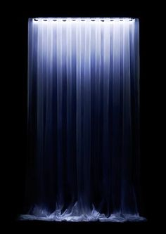 Waterfall LED Curtain Turns Night to Day