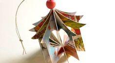 Procurando ideias de enfeites de Natal para fazer com papel? Então escolha ao menos um modelo dos vá