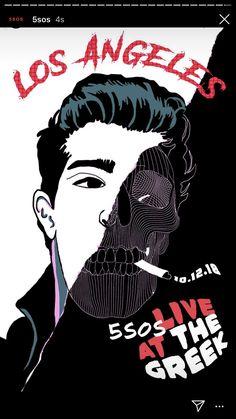 5sos Art, 5sos Memes, Calum Thomas Hood, Tour Posters, 5 Seconds Of Summer, No One Loves Me, Meet You, Poster Prints, Joker