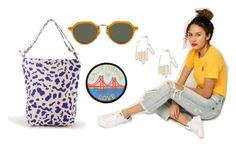 """""""Sunny days in the bay"""" by azaleasf ❤ liked on Polyvore featuring Ksubi, BAGGU, Ahlem, Azalea and Young Frankk"""