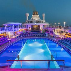 Deck 14. All three of Quantum of the Seas' pools are located on the same deck, so go ahead and double- or triple-dip.