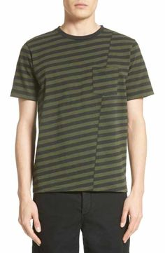 rag & bone Blake Stripe T-Shirt