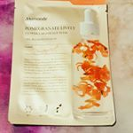 flower lab essence mask pomegranate~ The mask is thin and soaked with essence but it doesn't have the best fit for my face as it doesn't cover the sides of my face. after use it leaves my skin with looking dewy and feels soft and hydrated😊 Sheet Mask, K Beauty, Korean Skincare, Korean Beauty, Pomegranate, Lab, Feels, Leaves, Granada