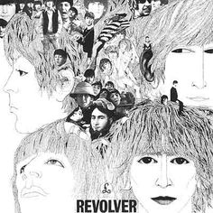 """Tomorrow Never Knows by The Beatles on their 1966 album Revolver. """"Tomorrow Never Knows"""" is the final track of The Beatles' 1966 st. Beatles Songs, Beatles Album Covers, Original Beatles, Beatles Gifts, Beatles Albums In Order, Beatles Nursery, Beatles Band, Greatest Album Covers, Vinyls"""