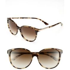 Kate Spade New York 'shawna' 56mm Sunglasses Camel Tortoise One Size Review Buy
