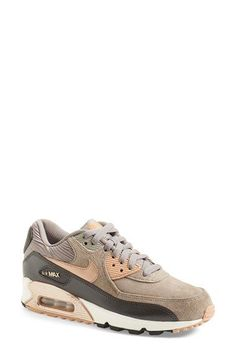 Free shipping and returns on Nike 'Air Max 90' Sneaker (Women) at Nordstrom.com. Metallic accents liven up a streamlined version of Nike's classic Air Max 90 sneaker outfitted with an air-cushioned footbed for signature Nike comfort. Smooth panels of suede and leather dial up the street-savvy style.