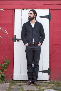 Aaron Levine, the 35-year-old vice-president of men's design at Club Monaco