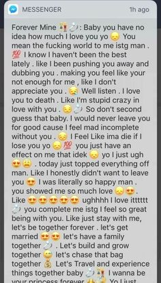 This stage of a relationship is the best. But it's even better when this doesn't stop☺️ Cute Boyfriend Texts, Message For Boyfriend, Boyfriend Quotes, Paragraphs For Your Boyfriend, Cute Paragraphs For Him, Goodmorning Texts To Boyfriend, Boyfriend Boyfriend, Cute Things To Say To Your Boyfriend, Relationship Paragraphs
