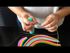 QUILL EASE QUILLING TOOL VIDEO TUTORIAL - YouTube