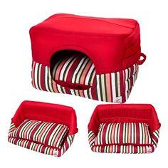 Casinha de Cachorro Cabana Rosa Bag Dog - MeuAmigoPet.com.br #petshop #cachorro #cão #meuamigopet