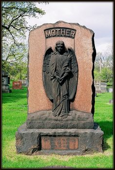 Woodmere Cemetery: Mother As Angel--Detroit MI | Flickr - Photo Sharing!