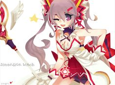 Aisha - Dimensional Witch (Elsword)