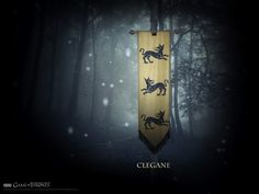 House Clegane - game-of-thrones Wallpaper