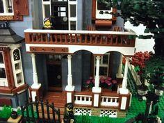 Mansard style Victorian House