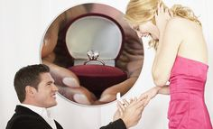 A diamond and bended knee: Women still want old fashioned proposals.   #oldfashion