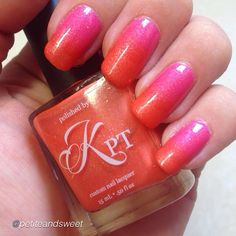 Do You Wanna Fanta swatch by @petiteandsweet