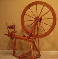 Jensen production spinning wheel