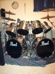 Mo drum...Jason's awesome kit