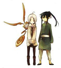 Tags: Anime, D.Gray-man, Allen Walker, Yuu Kanda