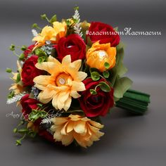 (85) Gallery.ru / Букет из конфет - Ручные букеты и букетики - AnastasiyaSidorenko