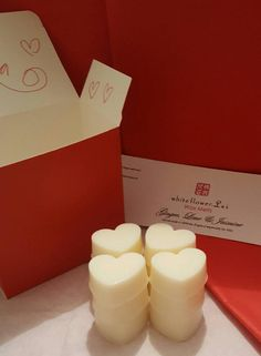 b7d4f84035a Heart Wax Melts in a box Valentines Day by Whiteflowerlei Valentine Box