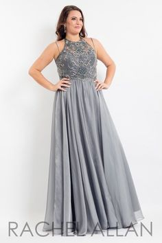 9030bea9a59 Rachel Allan Curves 6321 Prom Pageant Homecoming Formal Plus Size Gown
