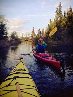 kayaking.... fun active outing