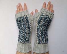 elegant gloves by madewithlovenatali on Etsy Knitted Gloves, Fingerless Gloves, Elegant Gloves, Arm Warmers, Mittens, Trending Outfits, Unique Jewelry, Winter, Handmade Gifts