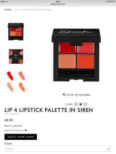 I really want this and the main reason is the name. Siren, it just calls to me. Plus the colours look lovely.