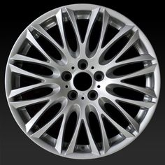 "BMW 745i oem wheels for sale 2002-2005. 20"" Silver rims 59442 - http://www.rtwwheels.com/store/shop/bmw-745i-oem-wheels-for-sale-silver-59442/"
