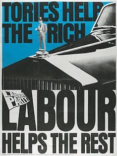 Poster in Support of the Labour Party, United Kingdom, 2009