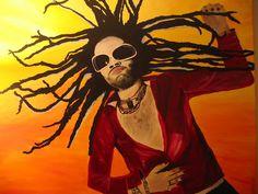 Awesome Music Mouse Pad Lenny Kravitz #2