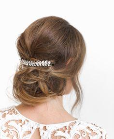 Peina cristales Colección de novia Vi & Bi tocados y coronas #bride #novia #bridalhairstyle