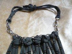 Items similar to Handmade Stylish Tassel Necklace. on Etsy Tassel Necklace, Necklaces, Bracelets, Tassels, Trending Outfits, Stylish, Unique Jewelry, Handmade Gifts, Men