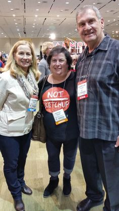 Great friends meeting up at the show- Don and Erika!