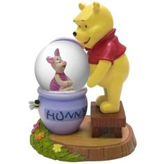 45 mm Winnie The Pooh Bear Playing With Piglet In Water Globe by StealStreet. $34.99. This gorgeous 45 mm Winnie The Pooh Bear Playing With Piglet In Water Globe has the finest details and highest quality you will find anywhere! 45 mm Winnie The Pooh Bear Playing With Piglet In Water Globe is truly remarkable.45 mm Winnie The Pooh Bear Playing With Piglet In Water Globe Details:Condition: Brand NewItem SKU: SS-WL-17728Dimensions: H: 45 (mm)Crafted with: Resin