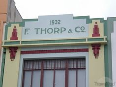TripWow is the easiest way to create and share stunning trip slideshows from your travel photos. Napier New Zealand, New Zealand Cruises, Architecture Tumblr, Heroes Book, Art Deco Buildings, Wonderful Places, Facade, Art Nouveau, Cruise Port