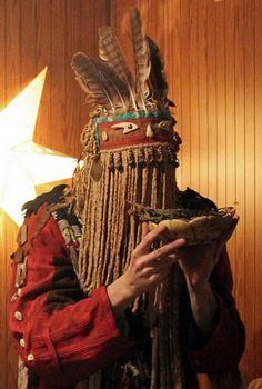 Olard Dixon (Elville Chilbiir-Kam) shaman's festival at Tuva