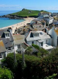 St Ives, Cornwall, England. Famous for its artist colony and offers a quality of light reminiscent of far warmer climes