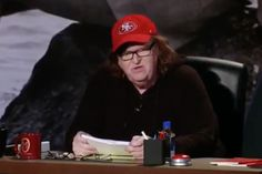 "Donald Trump Is Promoting Himself with a Michael Moore Film | If you find yourself thinking, ""wait a minute... Is Michael Moore supporting Donald Trump? That doesn't seem right."" Well you would be correct. He's not. That moment from Michale Moore in Trumpland has been taken out of context. Here's the fuller context: Michael Moore says that Trump is the ""Human hand grenade that [the people who used to be in the middle class] can legally throw into the system that stole their lives from them.""…"