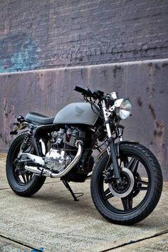 Honda CB400N Brat by Motorcycle 66