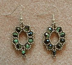 Linda's Crafty Inspirations | earring pattern