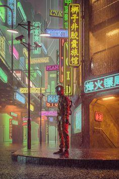 This ain't cyberpunk. Arte Cyberpunk, Cyberpunk Aesthetic, Cyberpunk City, Cyberpunk 2077, Futuristic City, Blade Runner, Space Opera, Sci Fi City, Neo Tokyo