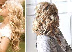 curly wedding hair Bridal Hair Down, Curly Wedding Hair, Wedding Hair Down, Wedding Hair And Makeup, Hair Makeup, Engagement Hairstyles, Wedding Hairstyles, Engagement Photos, Down Hairstyles