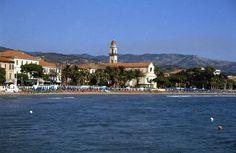 Golfo Dianese - la spiaggia di Diano Marina, Liguria - Italy